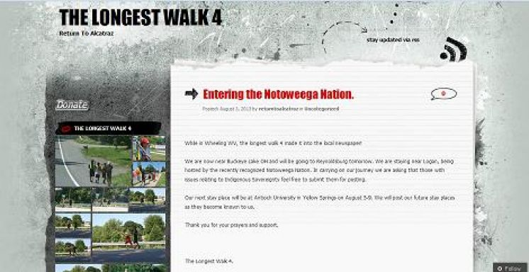 Entering the Notoweega Nation. | The Longest Walk 4