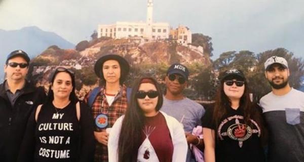 Notoweega Nation Artist Featured at Alcatraz